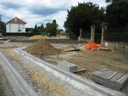 Travaux commune/Carrefour Rapaille